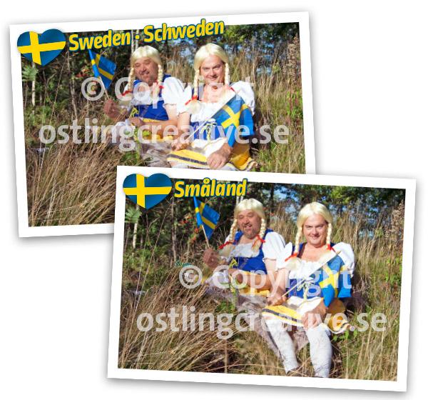 Svenska flickor i Småland
